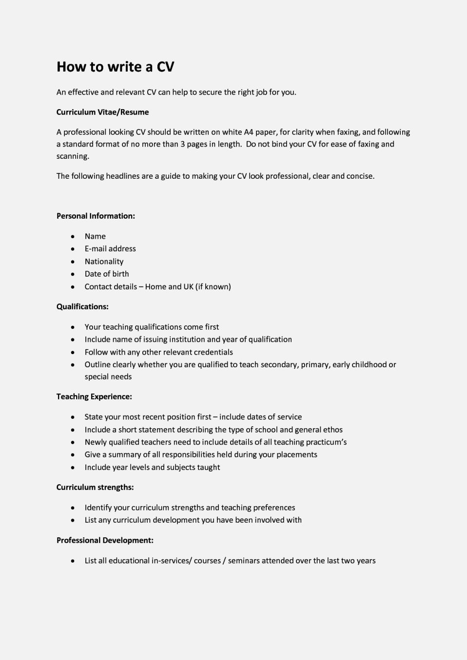 simple cover letter example cv template of how to write a
