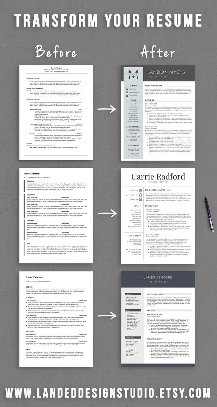 Resume Examples Pinterest Resume Examples