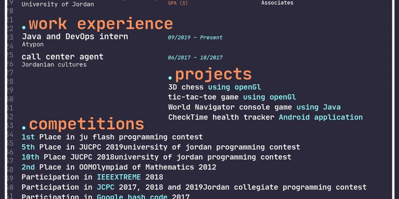 Software to Put On Resume Of Creative Resume Cv
