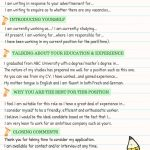 Teacher Resume Skills Of How to Write A Cover Letter Effectively Eslbuzz Learning English