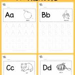 Worksheets for toddlers Alphabet Activities Of Download Free Alphabet Tracing Worksheets for Letter A to Z Suitable for Prescho Alphabet Free Letter Prescho Suitable Tracing Worksheets