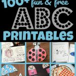 Worksheets for toddlers Alphabet Activities Of Free Alphabet Printables