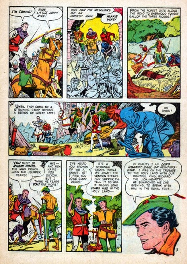 Robin Hood Myth Folklore Online