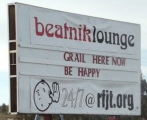 Beatnik Lounge billboard