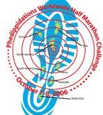 Phedippidations World Wide Half logo
