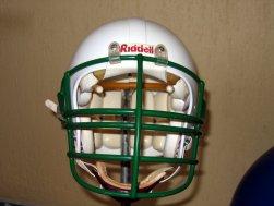 Helmet front