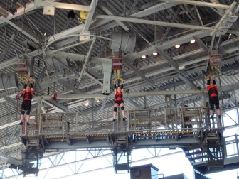 Stunt 1 at Fear Factor Live
