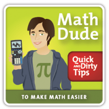 Math Dude podcast logo