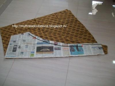 churidar stitching