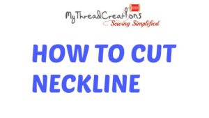 3 simple methods to cut kurti neck design