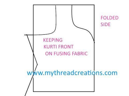 kurti neckline cutting kurti