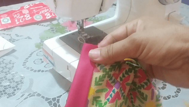 placket stitching in hindi