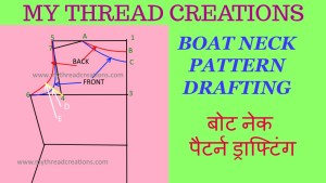 Boat Neck Drafting In 5 Minutes