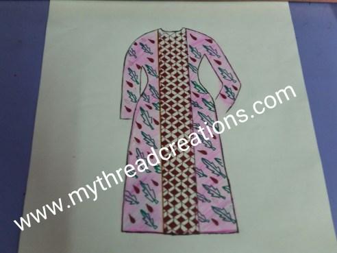 kurti neck design cutting