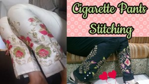Cigarette Pants Stitching