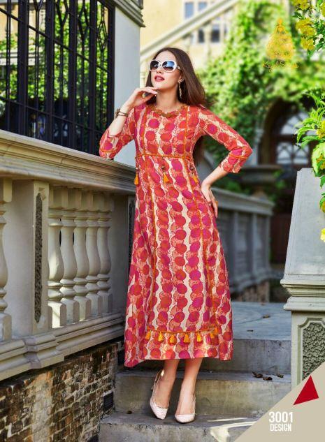 long designer kurti online