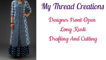 How To Draft A Kurti Pattern