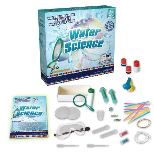 water experiments kit