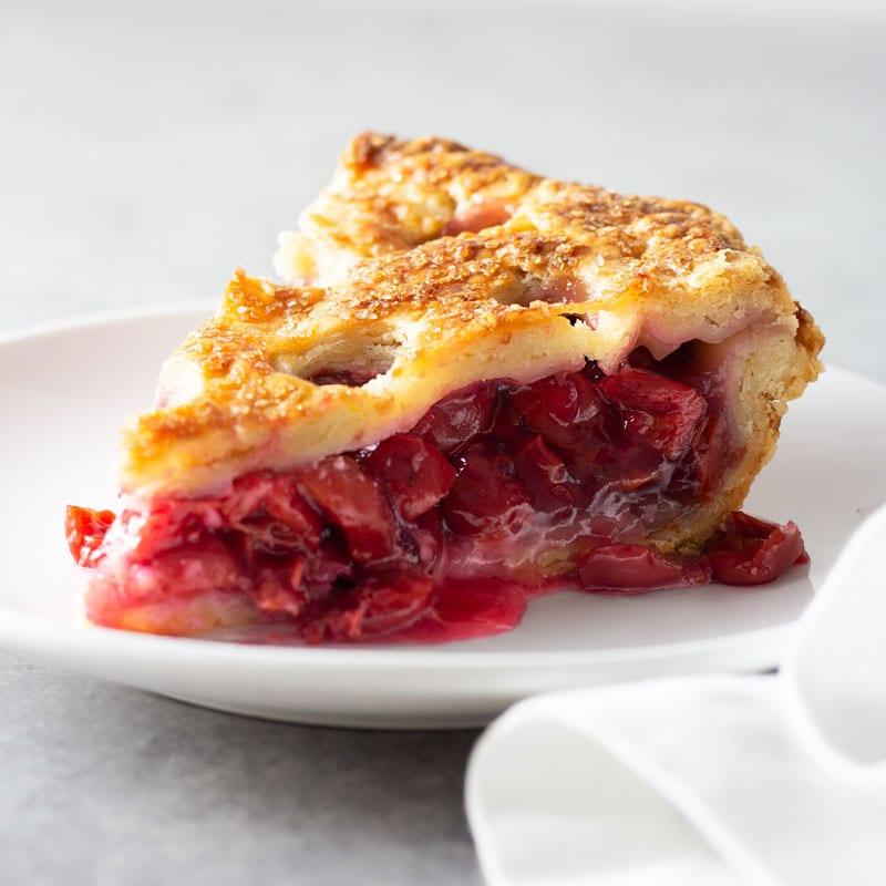 The Perfect Sour Cherry Pie · My Three Seasons