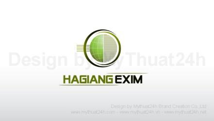 Thiết kế logo HAGIANG EXIM