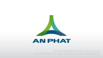 Thiết kế logo Công ty TNHH thương mại dịch vụ và du lịch An Phát