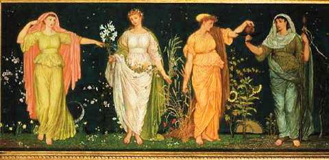 The Seasons by Walter Crane.