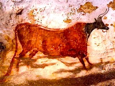 red cow_lascaux