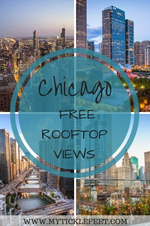 Why pay for rooftop views when you can get them for free? Here are the best rooftops you can view Chicago skyline from.