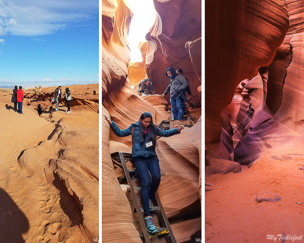 Photography tour entry for Lower Antelope Canyon