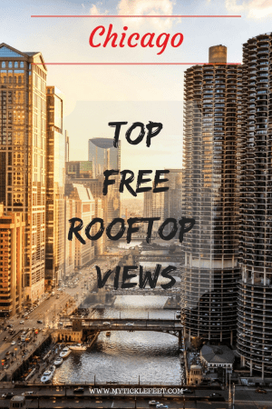 Looking for free aerial views of downtown Chicago? Here is a list of the top rooftop bars in Chicago with exceptional views