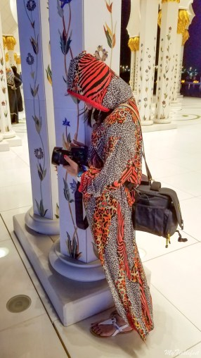 What to wear in Grand Mosque Abu Dhabi