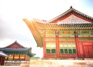 Beautiful architecture of Korean Palaces