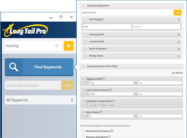Profitable Keyword Research with Long Tail Pro Discount