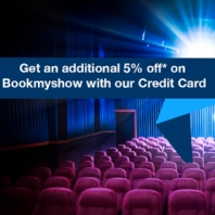 Get 5% OFF on Movie Tickets Using HDFC Bank Credit Card From BookMyShow App