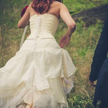 Kjol med lager på lager.