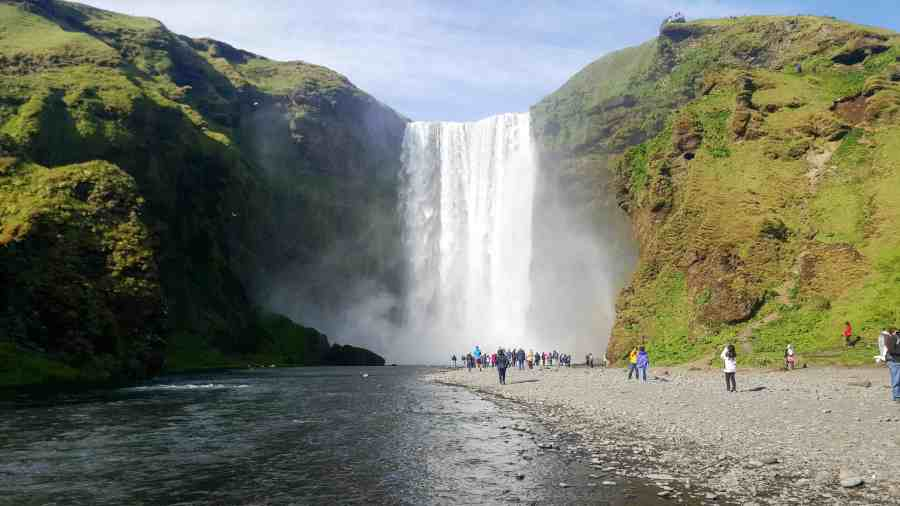 Skogafoss is one of the 10 Reasons Why Iceland Should Be Your Next Trip
