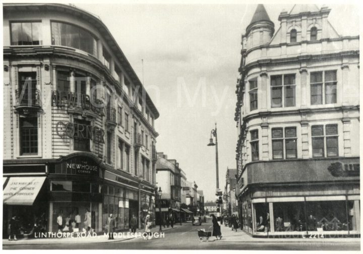 Newhouse Corner, Linthorpe Road (1940)