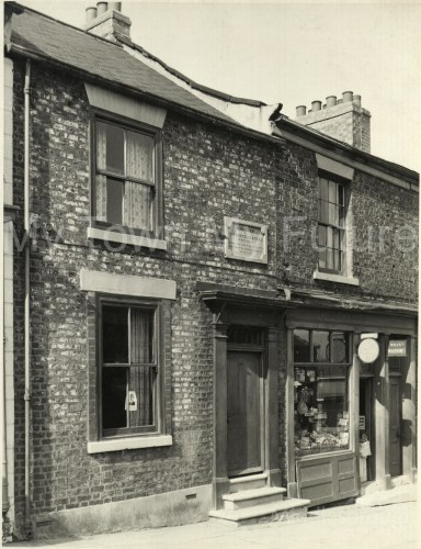 The first house in Middlesbrough, on West Street (1830)