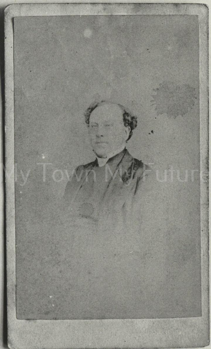Rev Richard Bradley, Curate of St Hilda's