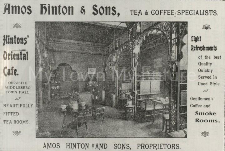 Hintons Grocery & Tea Rooms 1904