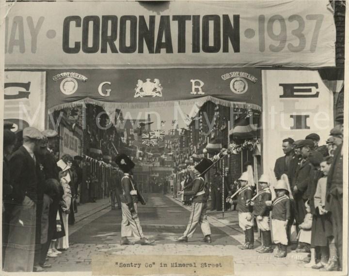 King George VI Coronation Mineral Street 1937