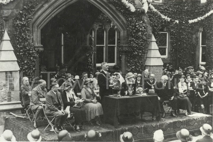Poole Sanatorium Opening 22 June 1932