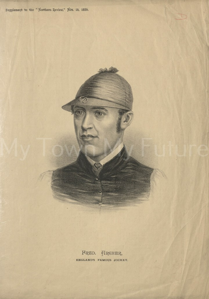 Fred Archer England's famous jockey