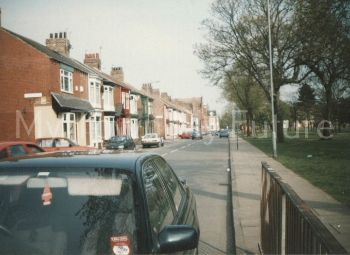 Parliament Road, Middlesbrough - showing Linthorpe Road (2001)