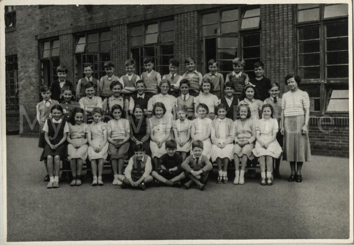 Fleetham Steet School (Miss Gatenby) 1950-1951