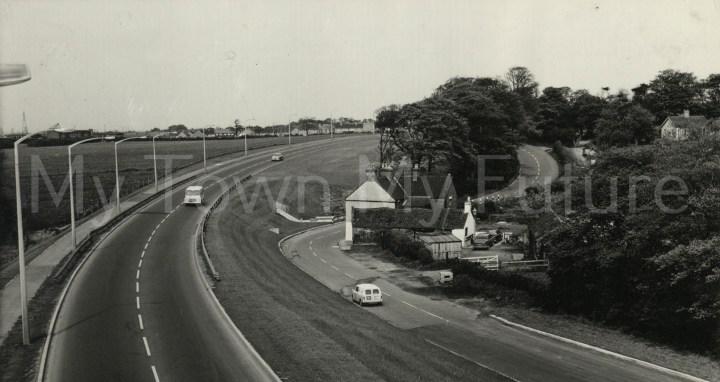 Ladgate Lane after reconstruction 1966