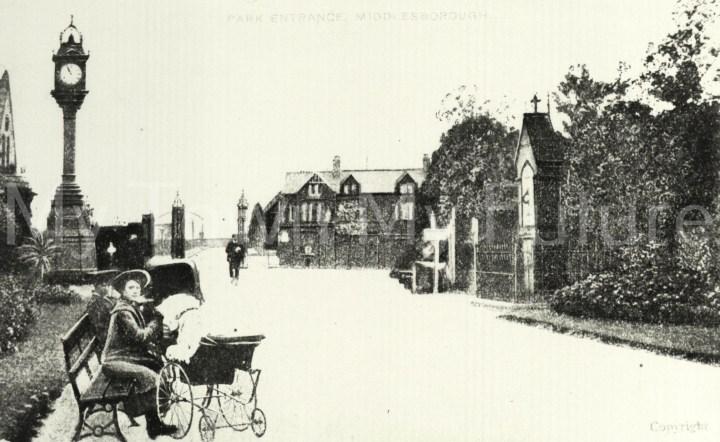 Albert Park - Entrance View