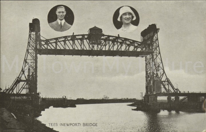 Newport Bridge - Royal Couple Prince George and Mary, Sanbridge - Middlesbrough