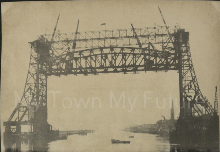 Newport Bridge - Under Construction