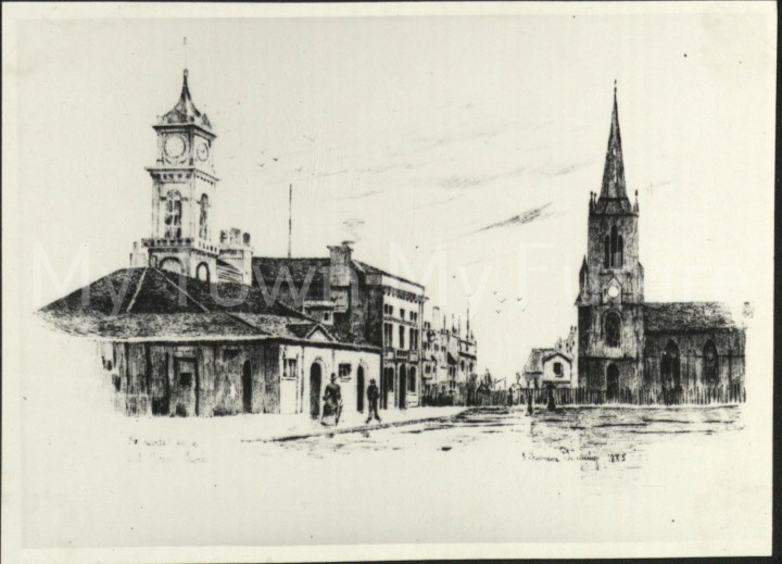 Old Town Hall - Sketch